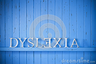 Dyslexia Background Concept