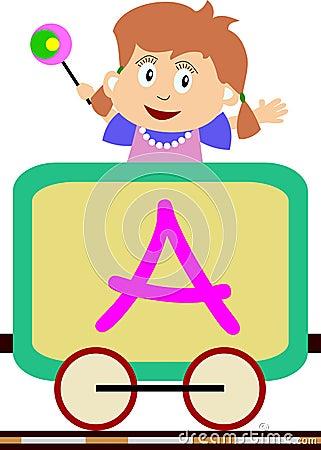 Dzieciak serii pociąg