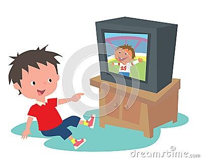 Dzieciaka tv dopatrywanie