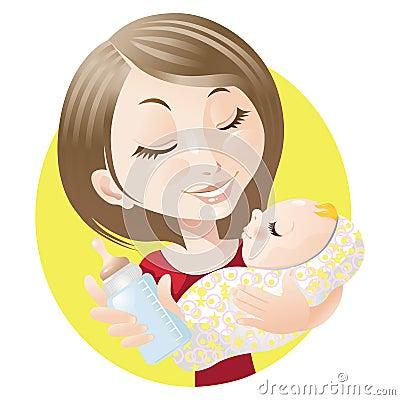 Dziecko matka