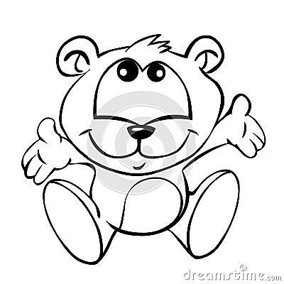 Dziecko niedźwiedź
