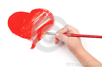 Dziecko remis serce
