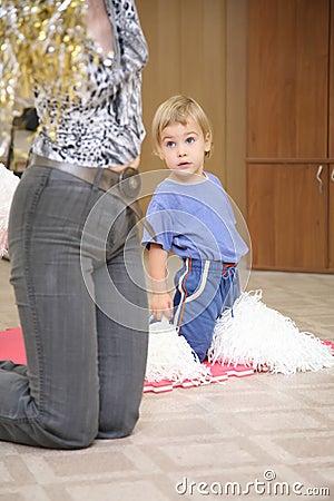 Dziecko wp8lywy ćwiczenie