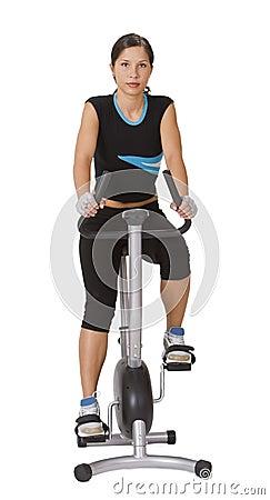 Dziewczyna fizycznej fitness