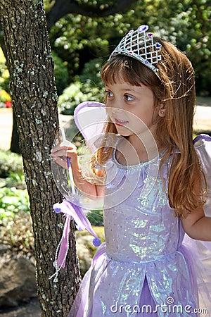 Dziewczyny kostiumowy princess