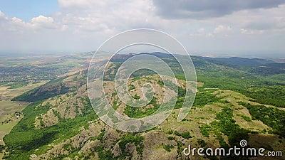 Dzikie Balkans lesiste góry zdjęcie wideo