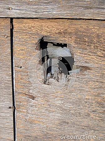 Dziurę do ściany