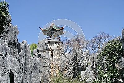 石森林的塔,中国的国家公园,云南,中国.图片