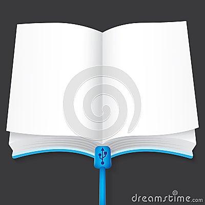 E-book vector