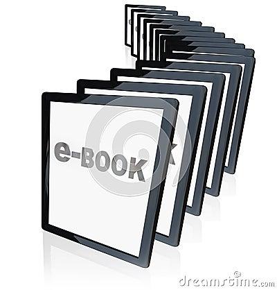 E-Books Tablet Readers New Technology