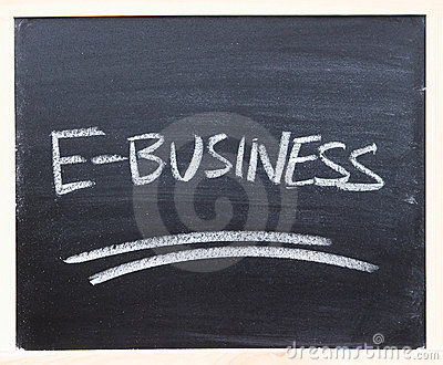 E-business closeup