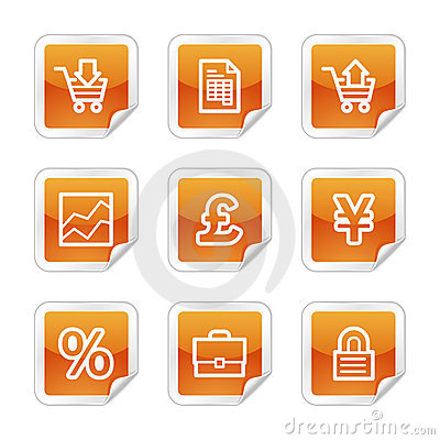 E-business web icons