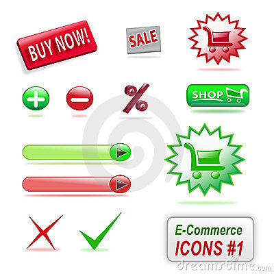 E-commerce icons, part 1