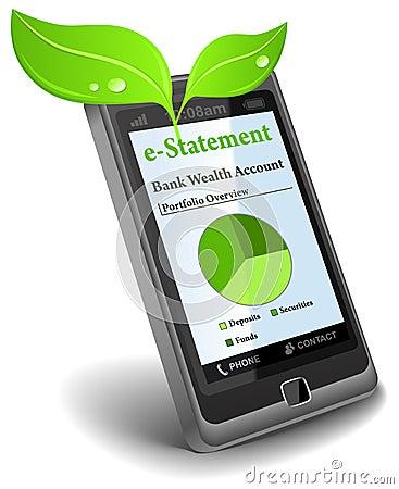 E-Declaración sobre el teléfono celular