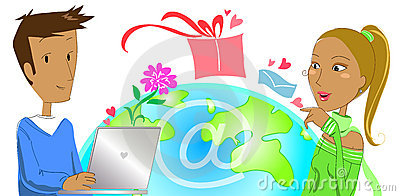 Buying a gift from e-commerce