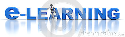 E-learning and robot
