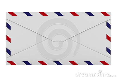 E-mail concept on white background