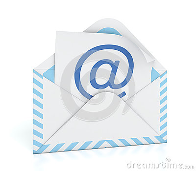 E-mail envelope