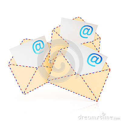 E-mail envelopes