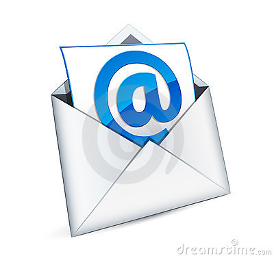Free E-mail Icon Royalty Free Stock Image - 18580666