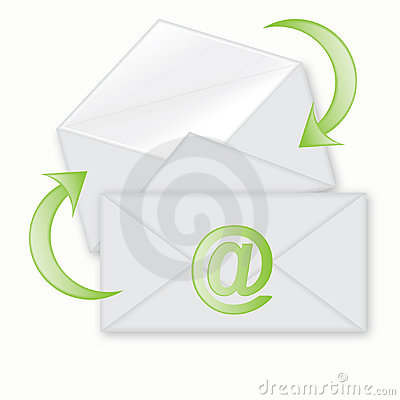 E-mail icon with envelope