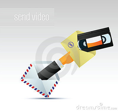 E-mail met video