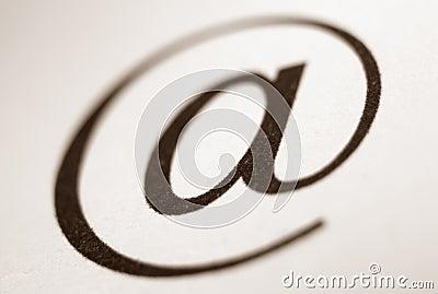 E-mail Symbol.