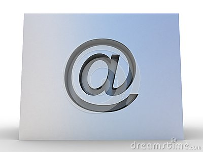 E-mail Symbol 3D
