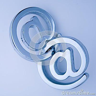 @ - e-mail symbols