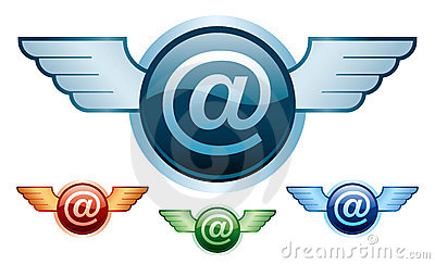 E-mail wings