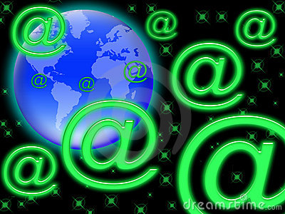 E-mail in the world (01)