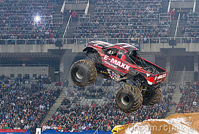 E-Maxx Monster Truck Editorial Stock Image