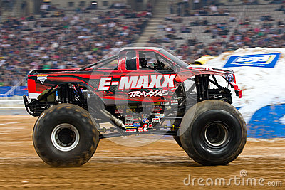 E-Maxx Monster Truck Editorial Image