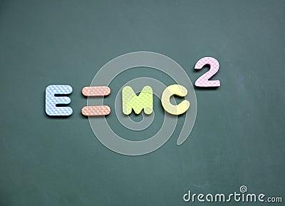E=mc2 sign