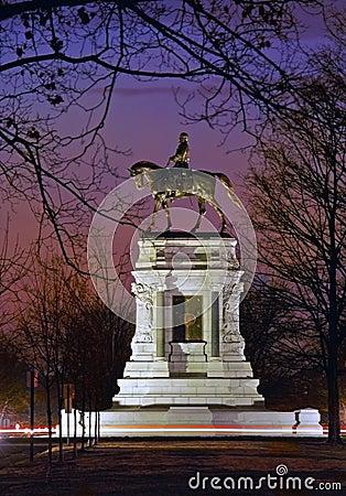 E ogólny zawietrzny pomnikowy Richmond Robert va