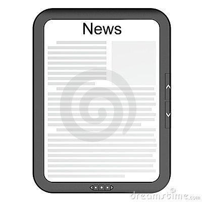 Free E-reader Royalty Free Stock Images - 23552359