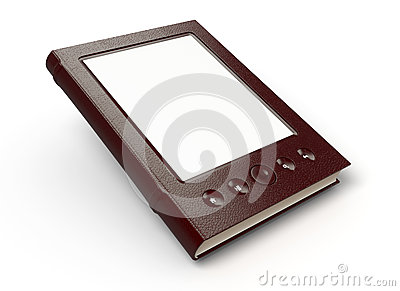 E-reader Stock Image - Image: 25892771