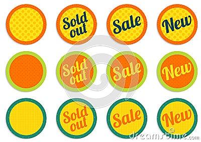 E-shop offer buttons