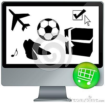 E-shopping cart