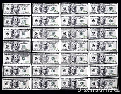 E.U. cem dólares