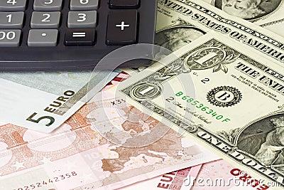 E.U. e euro- pares da moeda