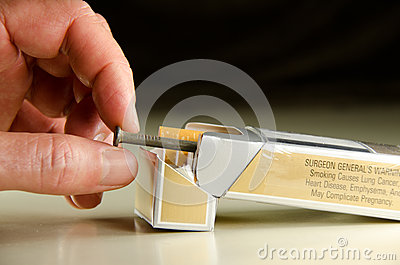 Each cigarette is a nail in your coffin