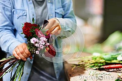 Each flower has it s place