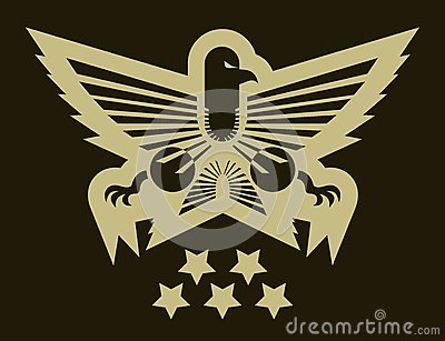Eagle army emblem