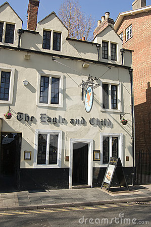 Eagle and Child Pub, Oxford Editorial Photography