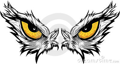 Eagle Eyes Illustration