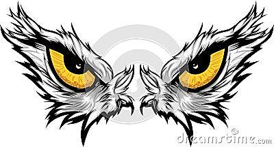 Eagle Eyes Illustration