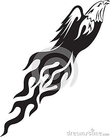 Eagle flame