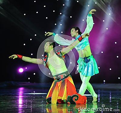The eagle fly---Mongolia folk dance