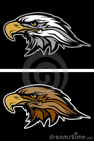 Eagle / Hawk Head Mascot Vector Logo